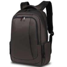 Uoobag KT-01 Slim Laptop Backpack Waterproof Anti-theft Bag 15.6 Dark Coffee Review