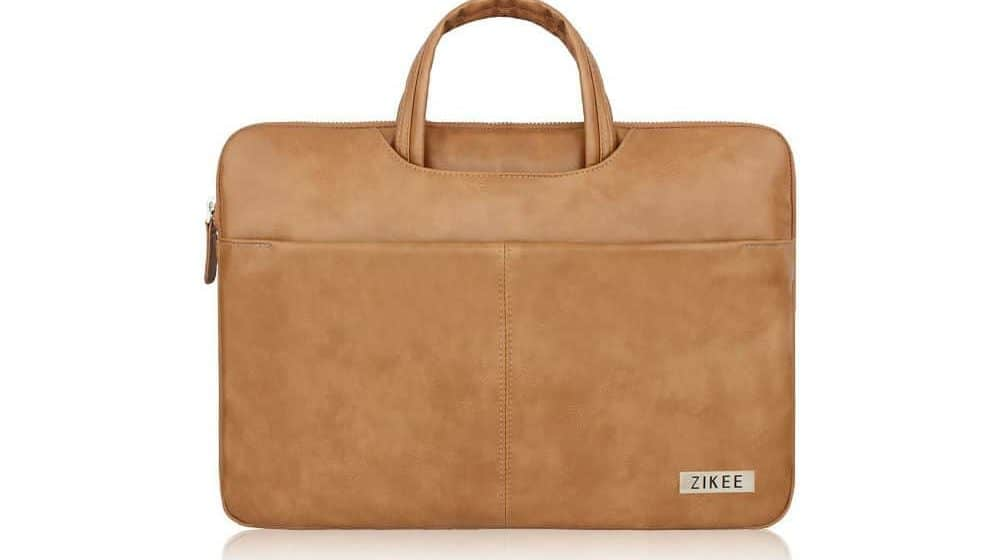 Zikee 17-17.3 Inch Water-Resistant PU leather Protective Briefcase with Handle Carrying Case Review